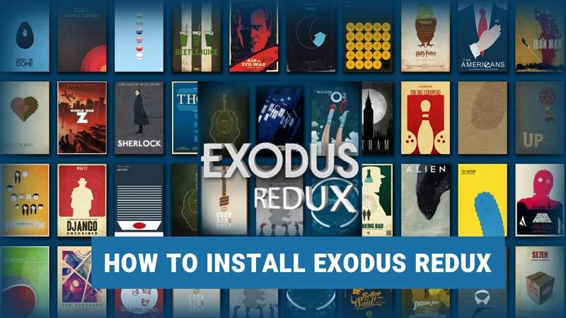 How to install Exodus Redux