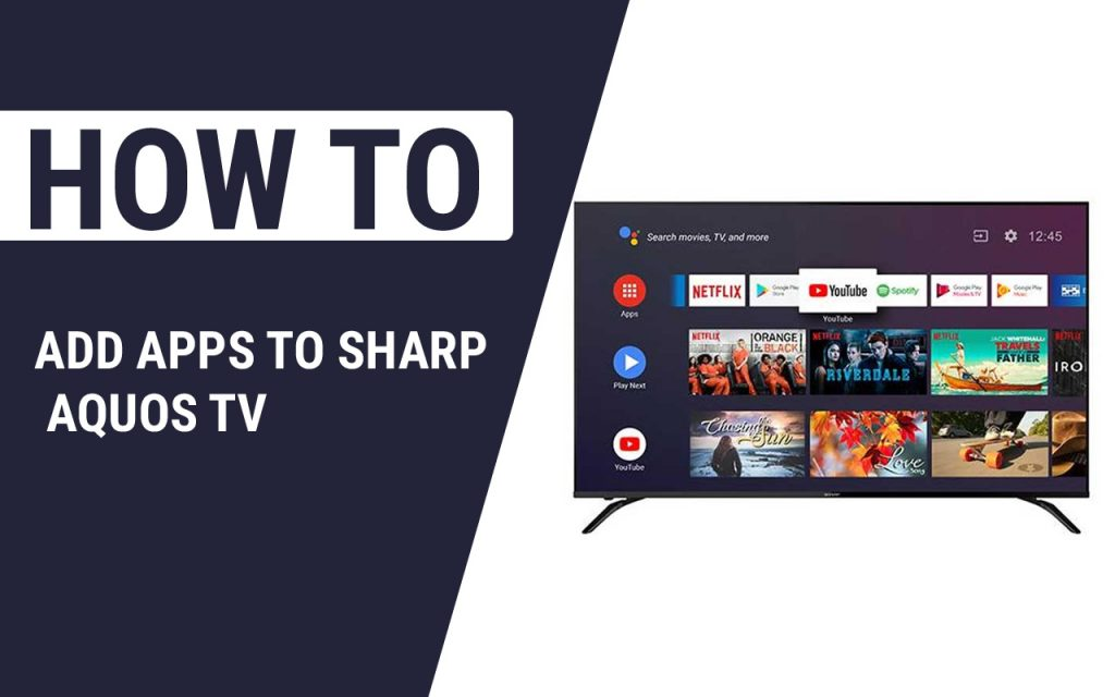 How To Add Apps To Sharp Aquos TV