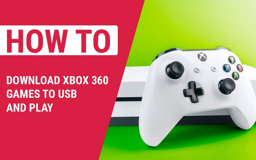 How to Download Xbox 360 Games to USB and Play