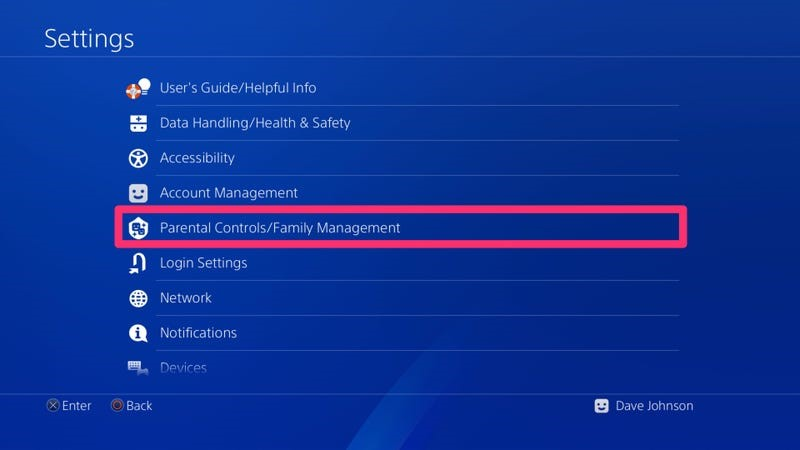 How to Get Rid of Family Manager on PS4
