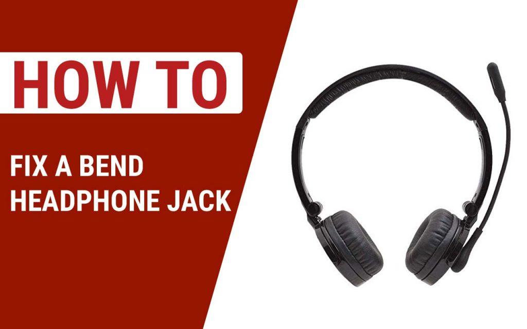 How to Fix a Bend Headphone Jack