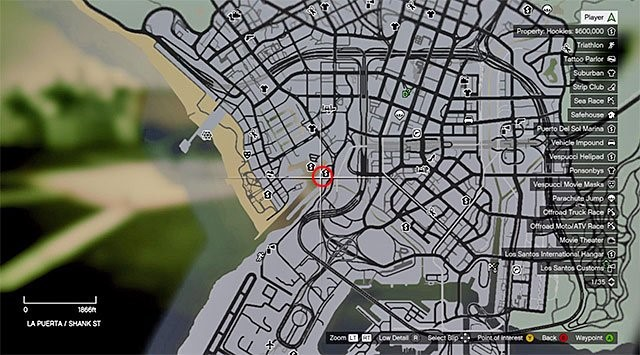 How to Use a Parachute in GTA V PS4