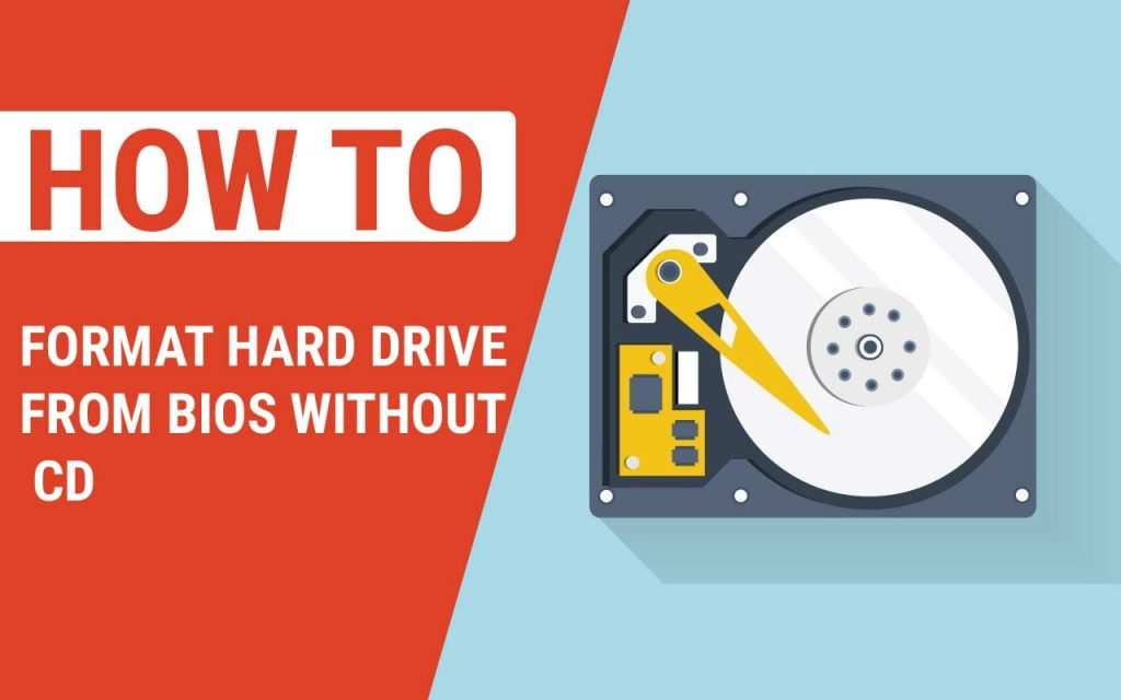 How to Format Hard Drive From Bios Without CD